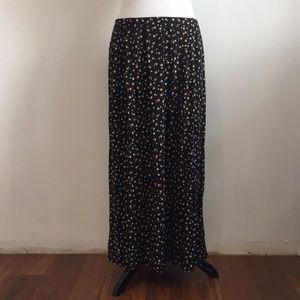 Vintage Floral Maxi Skirt by Renee Adams